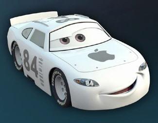Papercraft de personajes de Cars. Manualidades a Raudales.
