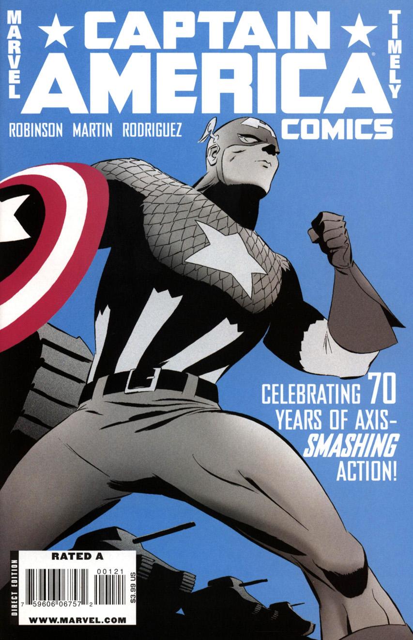 Captain America Comics Covers Captain America Comics 70th