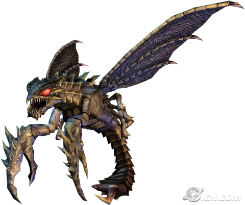 Image - Godzilla-unleashed-Megaguirus.jpg - Monster Wiki ...