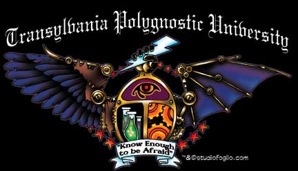 Transylvania Polygnostic University - Girl Genius - Phil ...