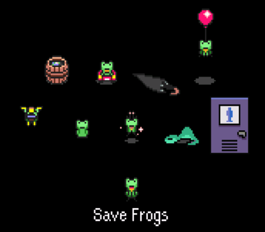 Mother  Save Frog Car