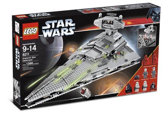 Lego 6211 - Star Wars Imperial Star Destroyer - 9 Minifigs ...   Lego Star Destroyer 6211