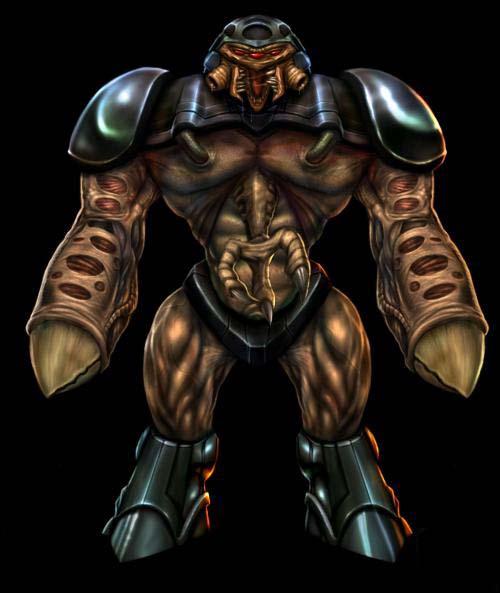 Image - Alien grunt concept black.jpg - Half-Life Wiki - Wikia