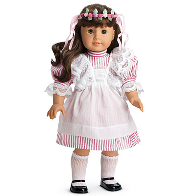 Lacy Pinafore and Rosebud Circlet - American Girl Wiki