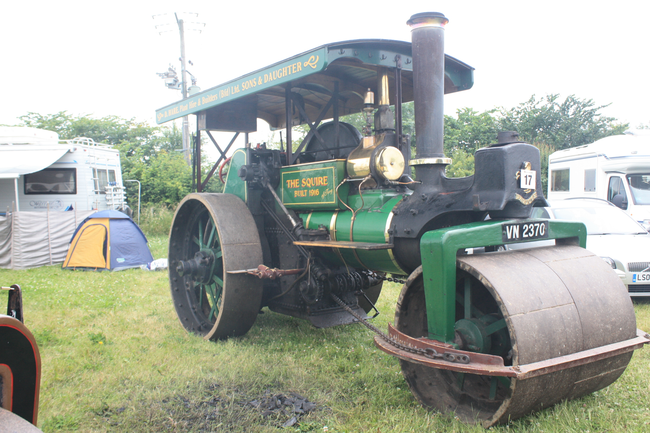 Aveling porter no 8754 tractor construction plant wiki the classic vehicle and - Porter international wiki ...