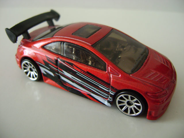 100 2007 2007 code car metallic red black and white side tampo designs