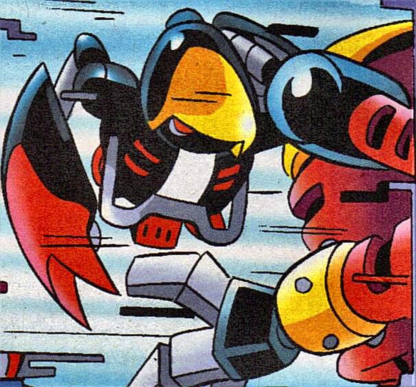 E-101 Beta - Mobius Encyclopaedia - Sonic the Hedgehog Comics