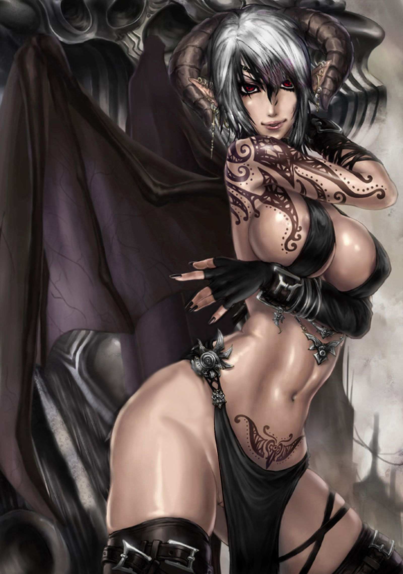Dark fantasy art hentai hentia picture