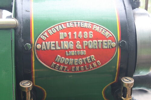 Aveling porter no 11486 tractor construction plant wiki the classic vehicle and - Porter international wiki ...