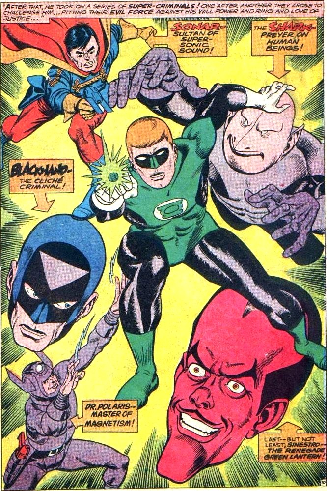 Green Lantern Villains Dc Comics Database