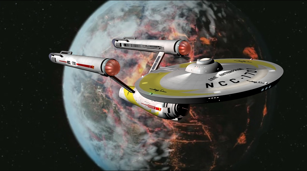 Iss Enterprise Ncc 1701 Memory Gamma The Star Trek