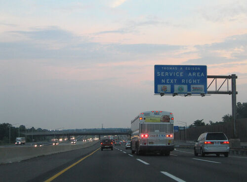 New Jersey New Jersey Turnpike Thomas Edison Rest Stops