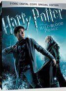 Half-Blood Prince 2disc DVD Cover