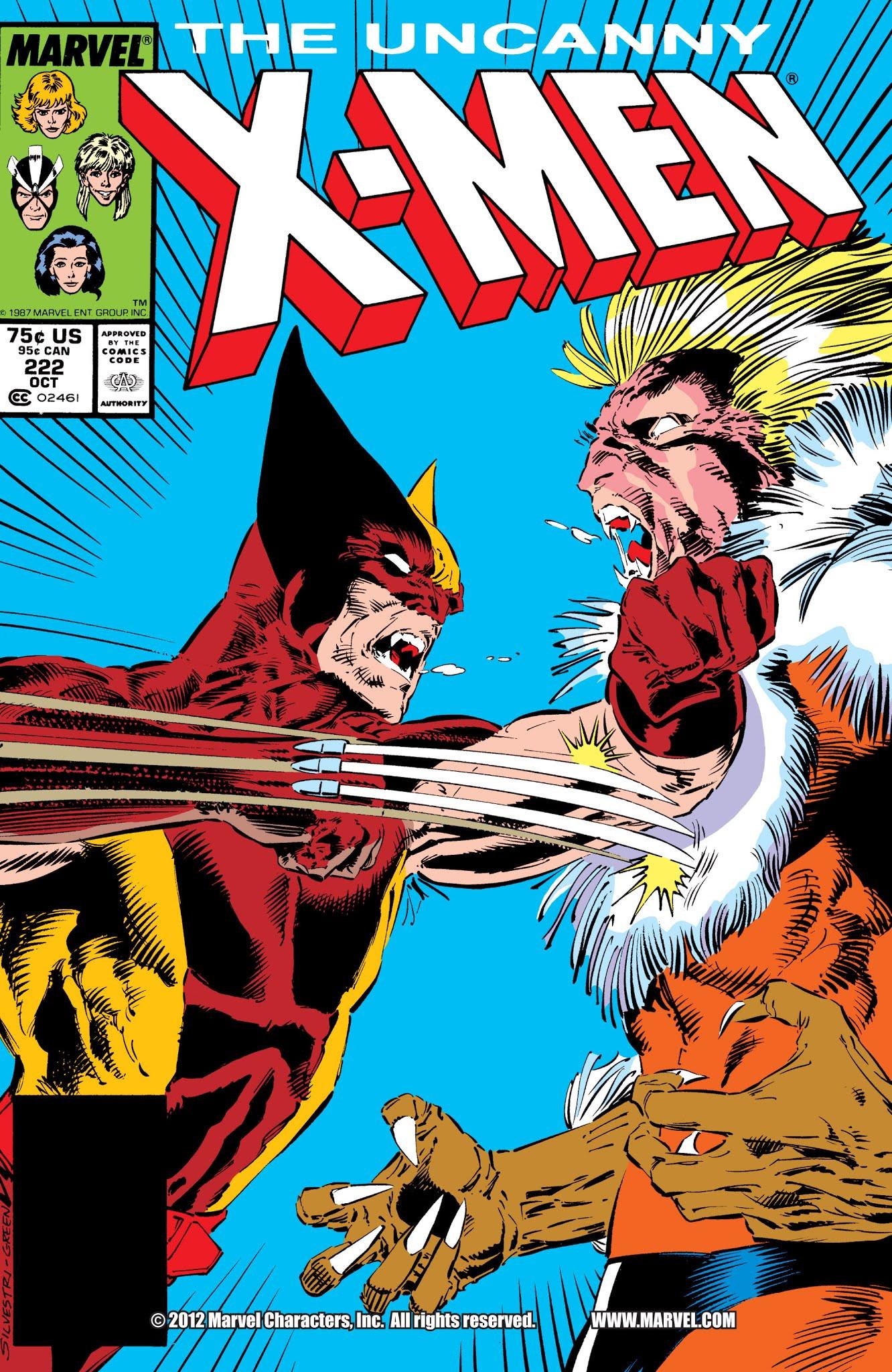 Uncanny X-Men Vol 1 222 - Marvel Database - Wikia