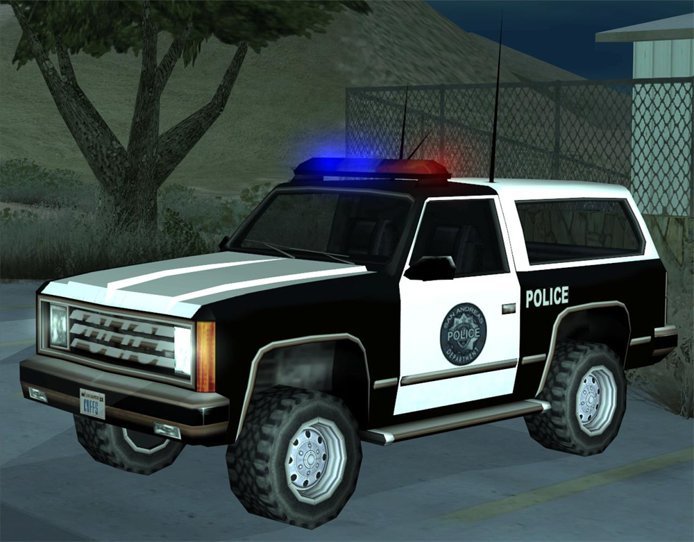A Ranger in GTA San Andreas  Gta San Andreas Police Cars