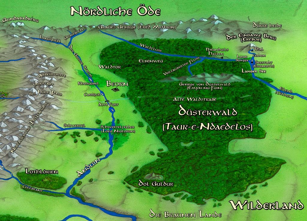 Warrior Cats Original Map