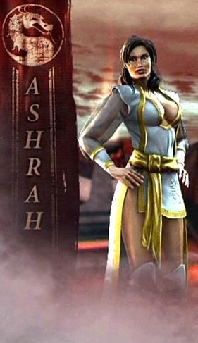 ashrah mortal kombat inferno