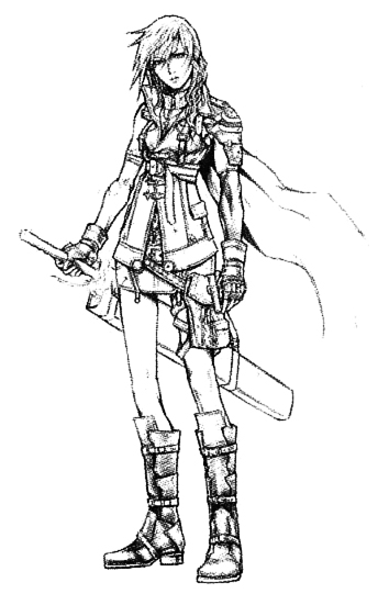 Final Fantasy Xiii Coloring Pages