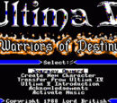 Computer Ports of Ultima V