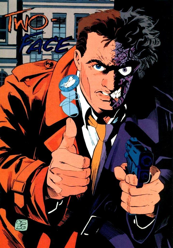 Two Face Harvey Dent: DC Comics Database