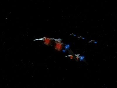 Die Sternenflotte stellt sich dem Maquis