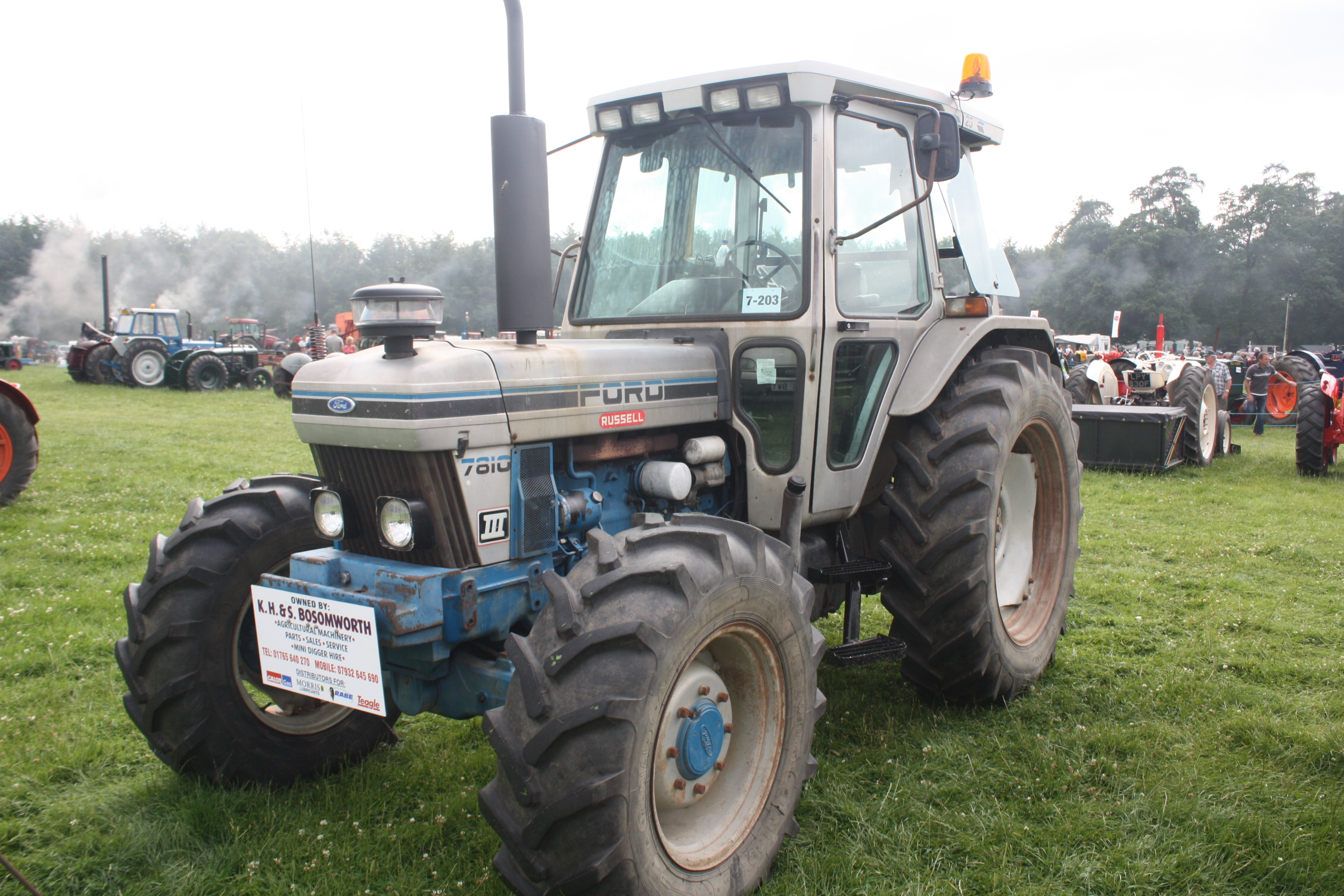 Ford 7810 Tractor : Ford tractor construction plant wiki the