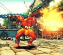 Dhalsim's Special Attacks