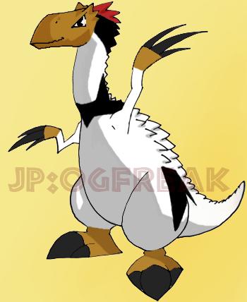 Image - Therizinosaurus chibi.PNG - Dinosaur King
