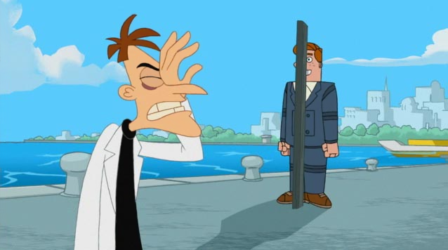 Phineas And Ferb Dr Doofenshmirtz Building Norm - Phineas ...