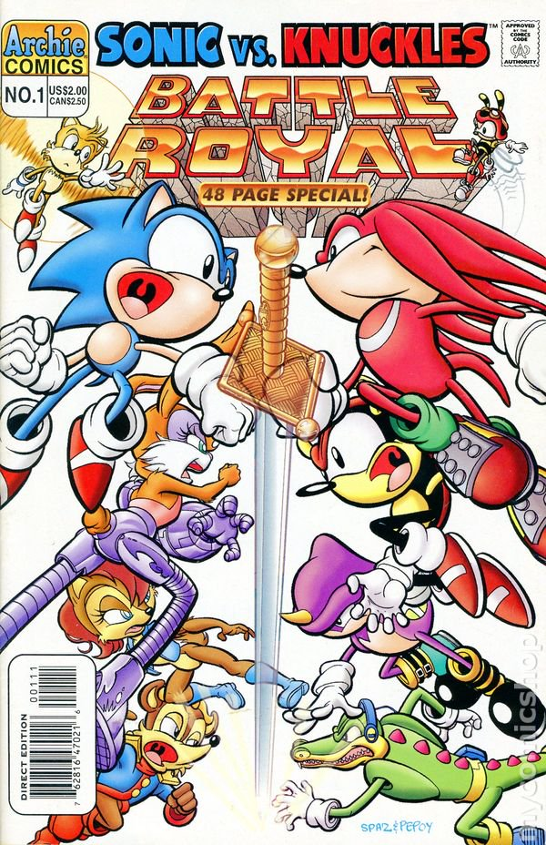 Archie Sonic Super Special Issue 1 Sonic News Network