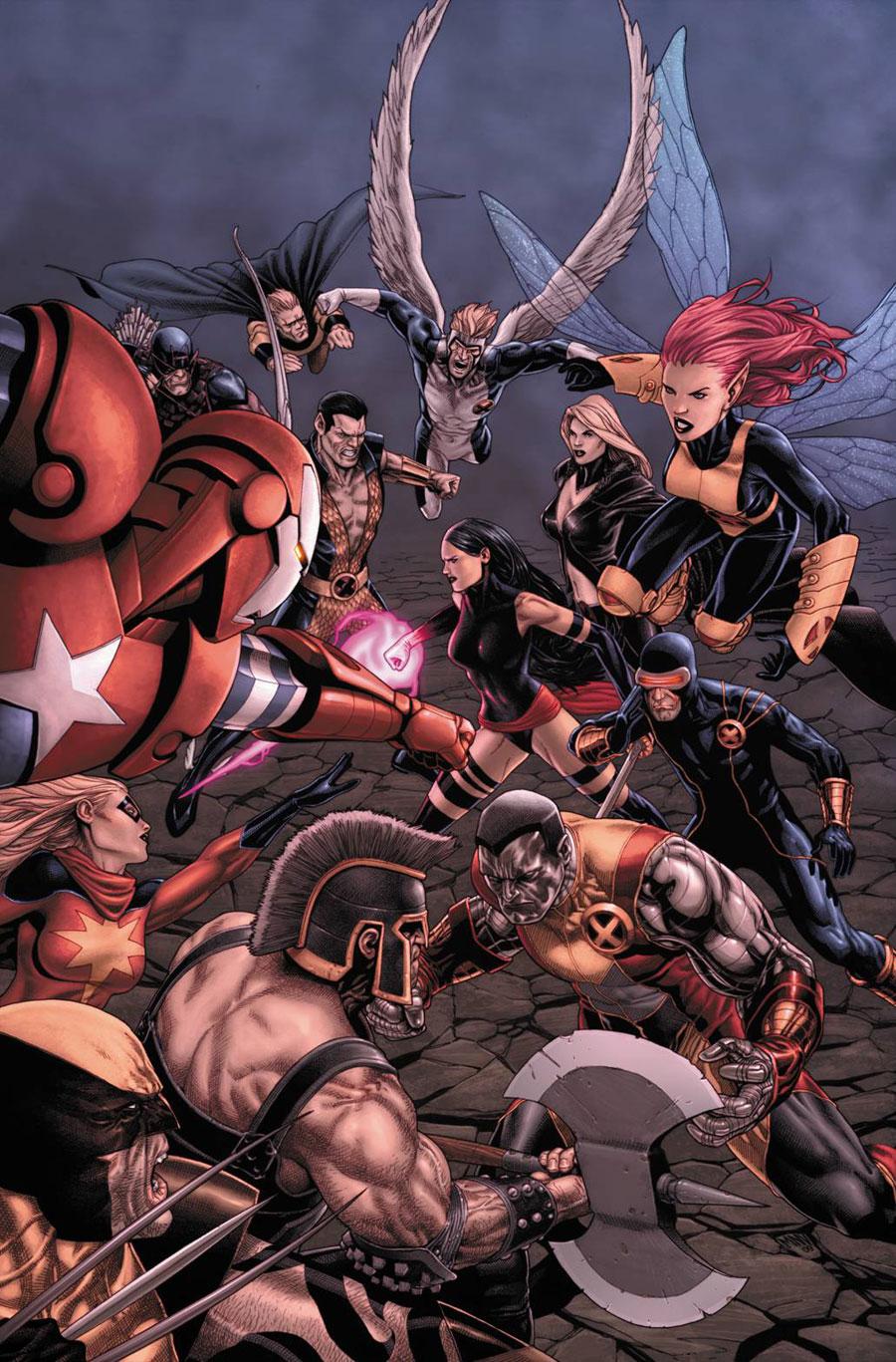 Dark Avengers Uncanny X-Men