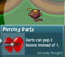 Piercing Darts