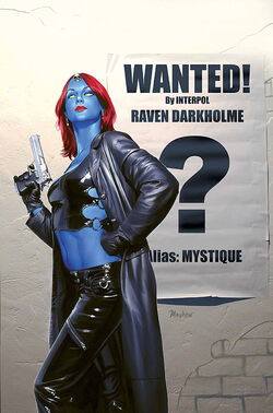 Mystique Vol 1 24 Textless