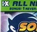 Sonic X DVDs
