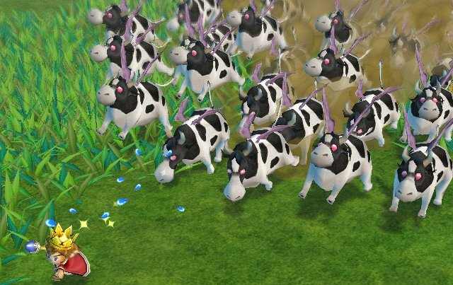 Image Rodeo Cow Stampede Jpg Little King S Story Wiki