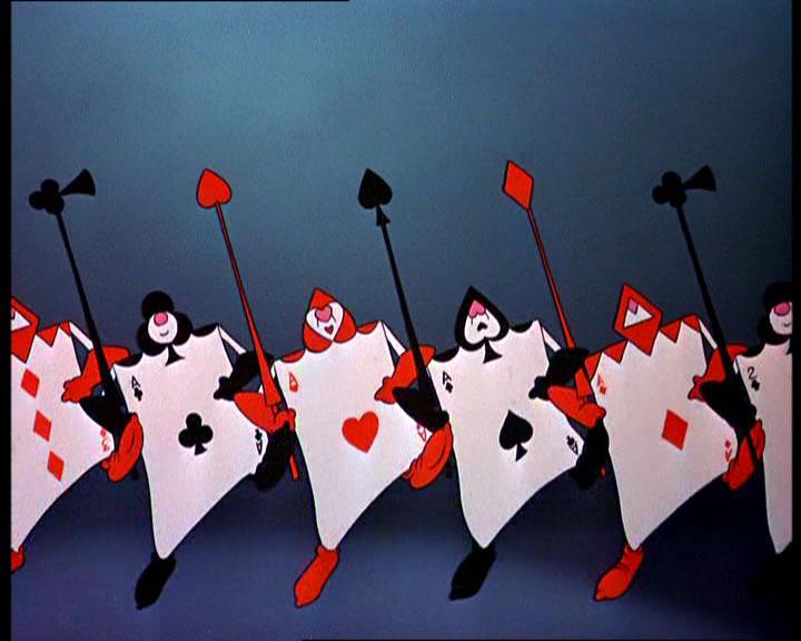 alice wonderland red queen guards