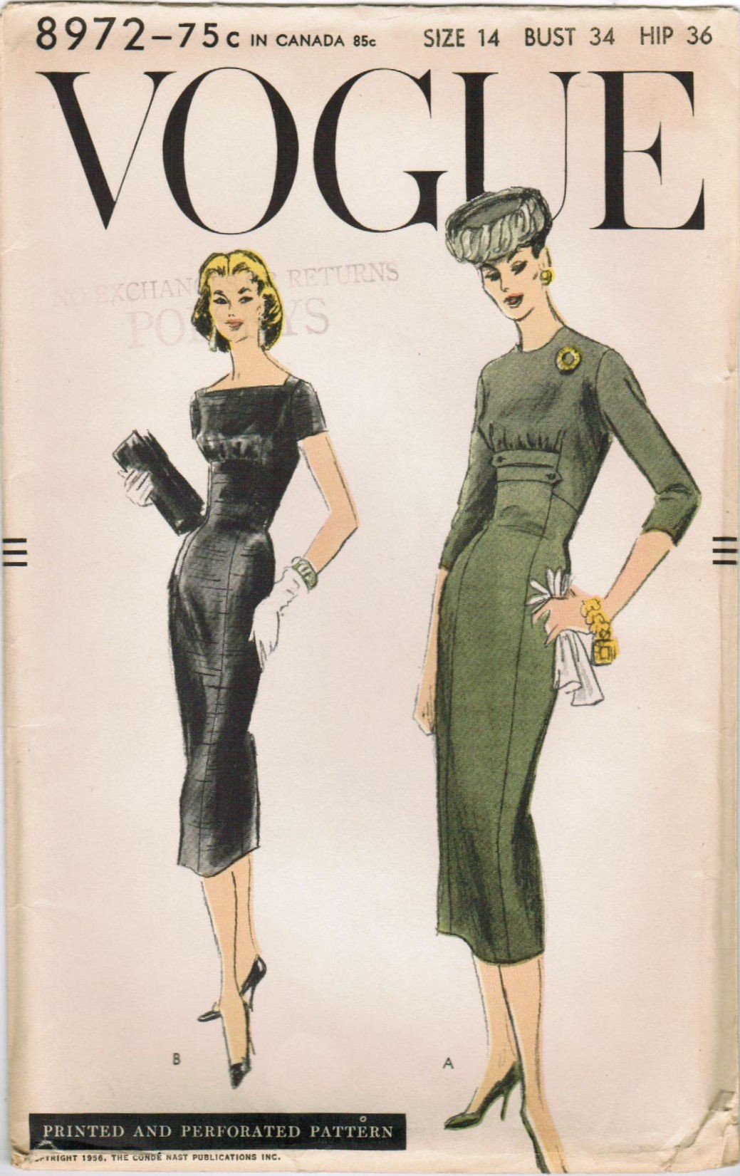 Vintage Vouge Patterns 44