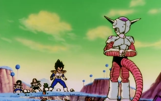 Frieza closes in mighty porunga grant our wish dragon ball wiki