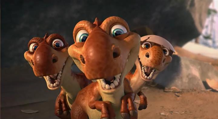 Baby Dinos - Ice Age W...