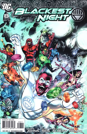 Cover for Blackest Night #8 (2010)