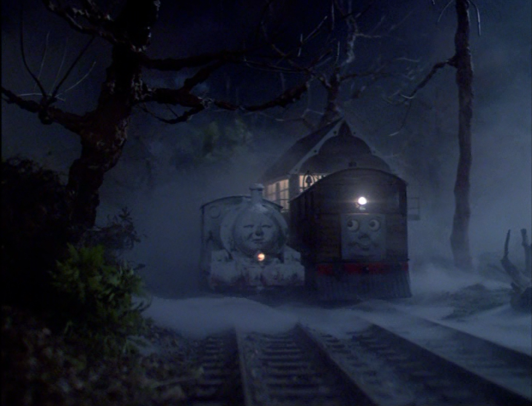 Real ghost train