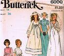 Butterick 6000 A