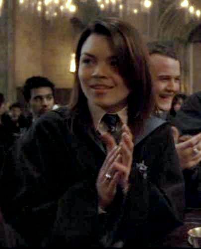 Harry Potter Slytherin Girls Pansy applauding the
