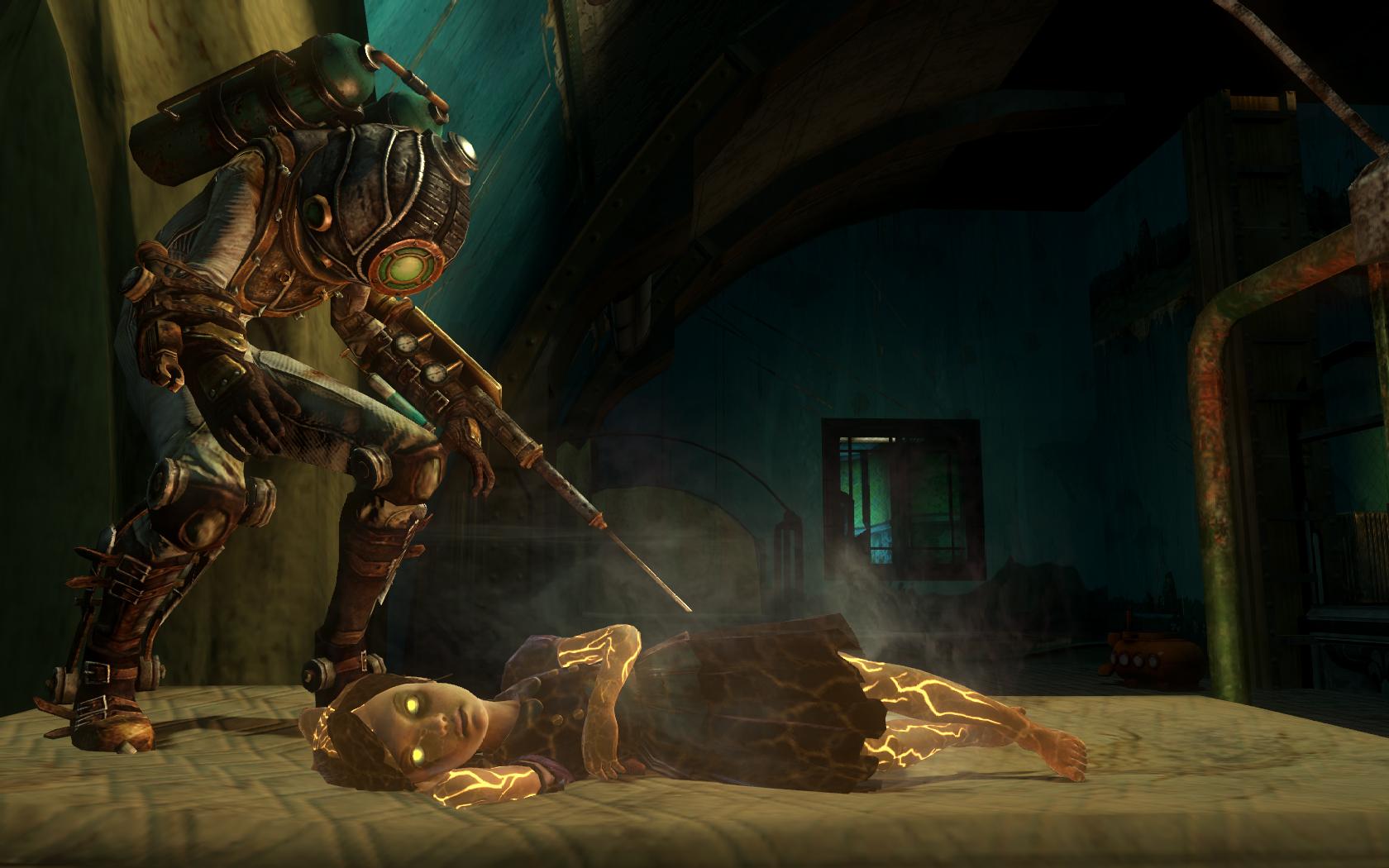 Eleanor Lamb - The BioShock Wiki - BioShock  BioShock 2  BioShock    Bioshock 2 Eleanor And Delta