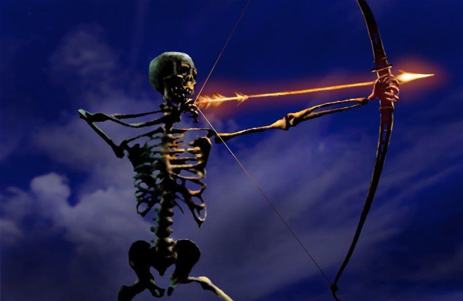 skeleton archers  tak unit taros