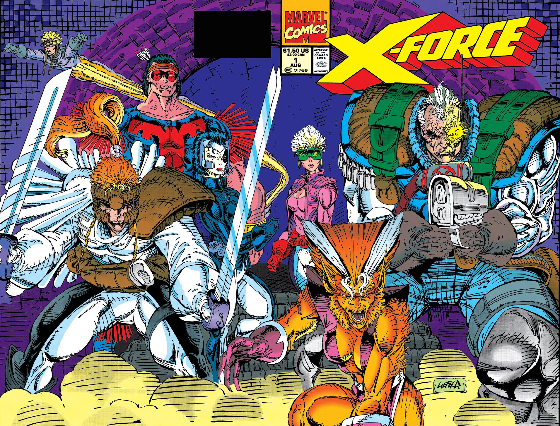 x force vol 1 1 marvel comics database. Black Bedroom Furniture Sets. Home Design Ideas