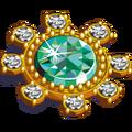KinglyTreasure EmeraldBrooch-icon