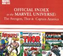 Avengers, Thor & Captain America: Official Index to the Marvel Universe Vol 1 2