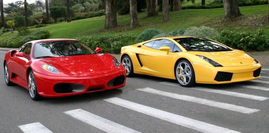 Image Ferrari Vs Lamborghini Jpg Autopedia Wikia