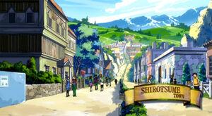 Loc Shirotsume Stadt